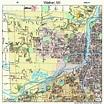 Walker Michigan Street Map 2682960