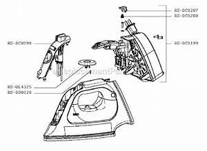 Rowenta Dx1900u1  3c Parts List And Diagram   Ereplacementparts Com