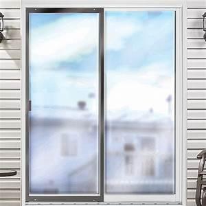Moustiquaire Pour Porte : porte moustiquaire ajustable pour porte patio 30 po brun ~ Voncanada.com Idées de Décoration