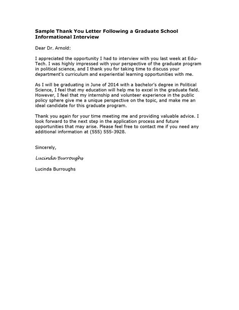 thank you letter appreciation sle of letter of appreciation to school just b cause 32939