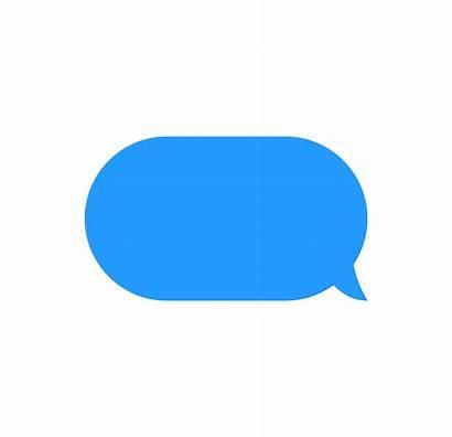 Message Bubble Text Vector Clip Template Bubbles