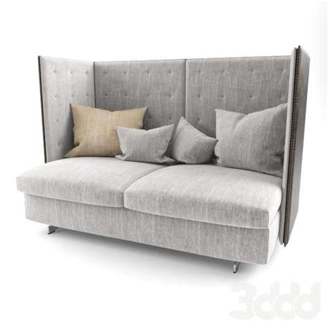 poltrona frau torino poltrona frau gran torino hb 2 seater sofa 3d models 2