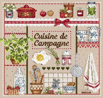 la cuisine de madame ange quot cuisine de cagne quot madame la fée cross stitch wish