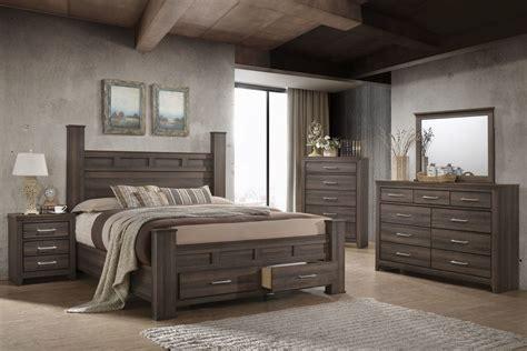 danville  piece queen bedroom set   led tv