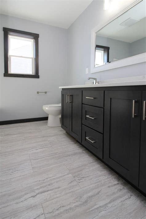 light gray luxury vinyl tile bathroom floor vinyl tile