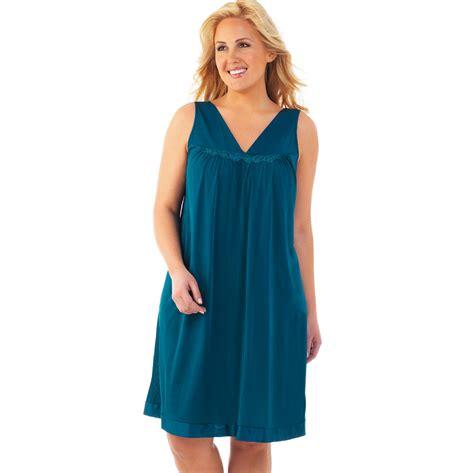 vanity fair clothing vanity fair s sleeveless nightgown clothing shoes