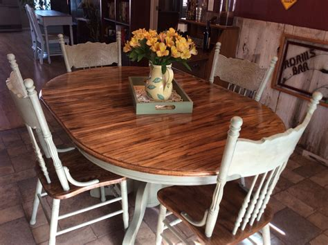 rescued  restored  beautiful solid oak table