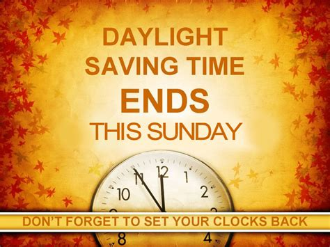 daylight savings ends sunday pictures images
