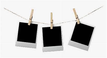 Polaroid Hanging Frame Transparent Sticker Words Frames