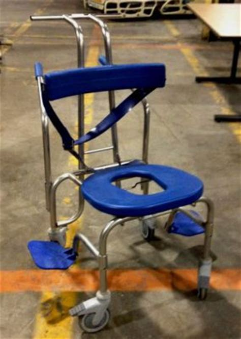used rolling shower commode chair wheelchair un venta
