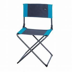 Chaise Camping Pliante : tabouret camping chaise camping pliante gris turquoise trigano ~ Melissatoandfro.com Idées de Décoration