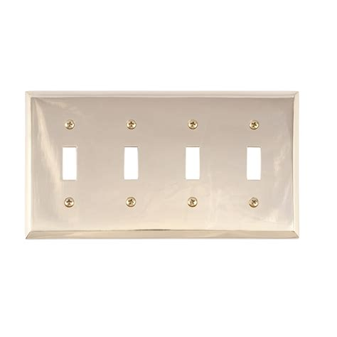 quaker cabinet hinges brass accents m07 s4591 quaker switch plate low