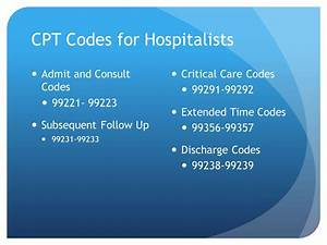 Hospitalist Coding and Billing (For Dummies) - ppt video ...