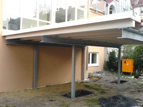 Carport Mit Stahlkonstruktion  Zhg Holz & Dach