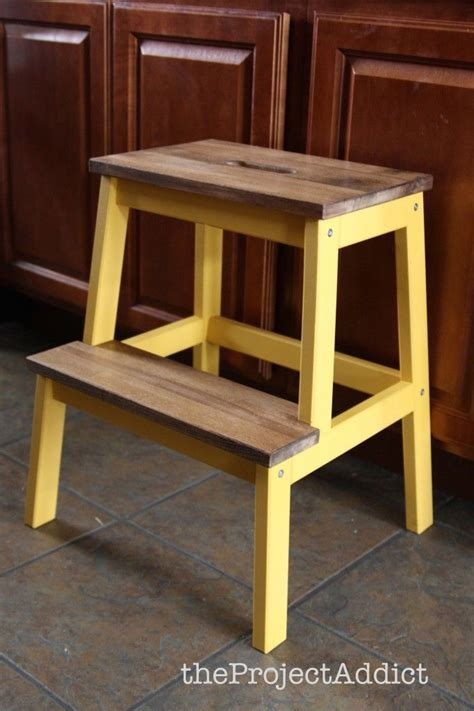 Ikea Step Stool   WoodWorking Projects & Plans