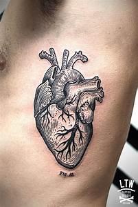 Anatomical Heart Tattoos - Askideas.com