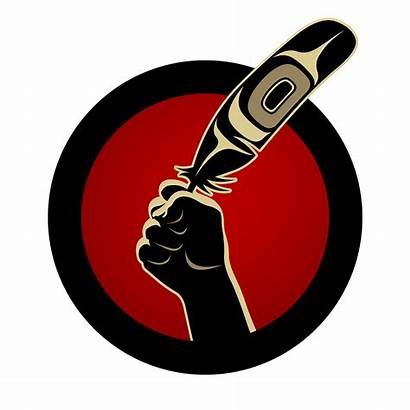 Idle Fist Movement Native Protest Indigenous Clipart