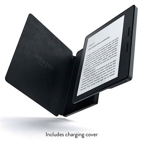 Amazon  Ee  Kindle Ee   Oasis Ereader With Leather Charging Cover