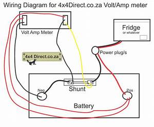 Volt  Amp Meter With Shunt