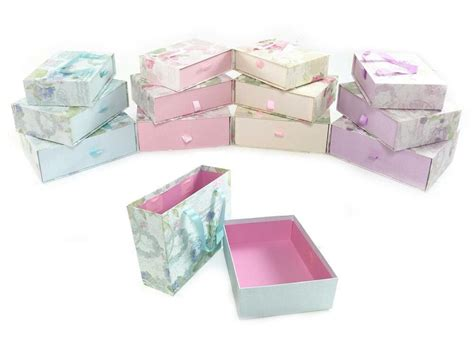 Decorated Gift Boxes - decorative floral cardboard storage birthday