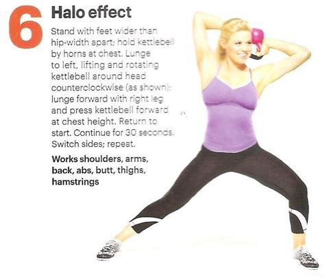 halo kettlebell effect exercise ball workout fitness exercises kettle routines uploaded user