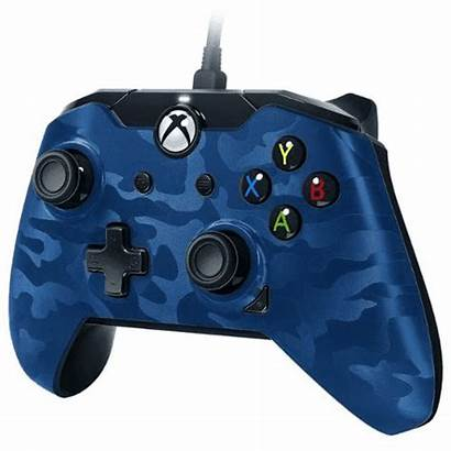 Manette Xbox Bleu Camo Jeu Cultura