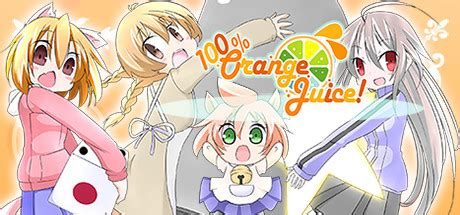 100 Orange Juice Wallpaper by 推廣 100 Orange Juice 心得 重要資訊募集 Steam 場外休憩區 哈啦板 巴哈姆特