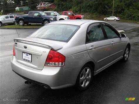 2008 Kia Spectra Sx silver 2008 kia spectra sx sedan exterior photo 55622948