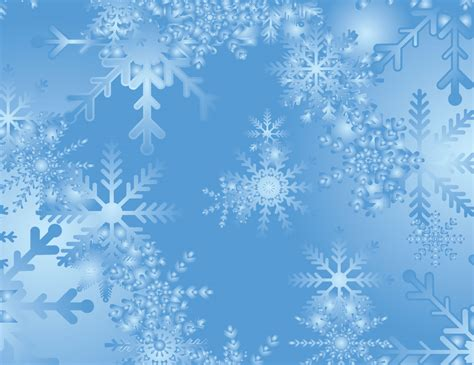 Blue Snowflake Background by Snowflake Backgrounds Wallpapersafari