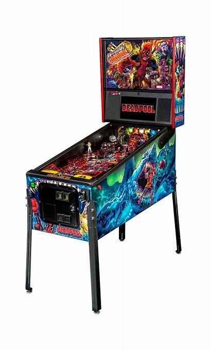 Deadpool Premium Pinball Stern