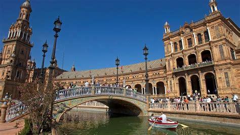 La plaza de España de Sevilla, elegida segundo lugar más ...