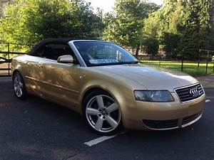 Audi A4 Cabriolet : 2004 audi a4 cabriolet low miles 1 8 t sport 2dr low ~ Melissatoandfro.com Idées de Décoration