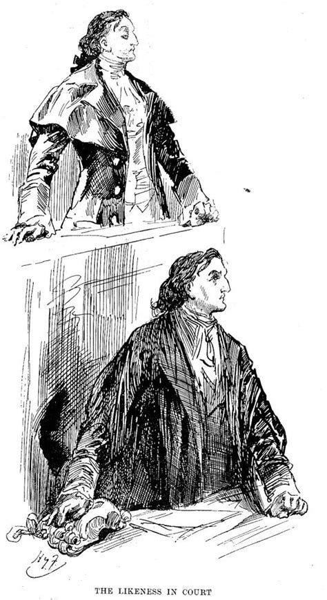 Tale Two Victorians by Quot The Likeness In Court Quot By Harry Furniss Seventh