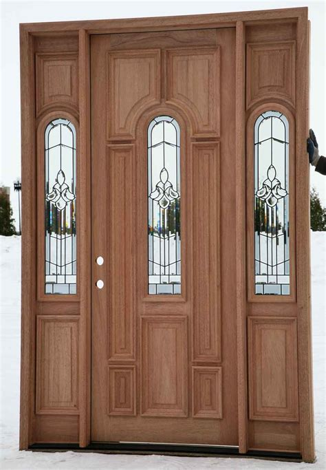 cheap wood entry doors feel  home