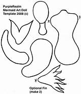 Mermaid Template Paper Doll Mermaids Crafts Dolls Patterns Printable Tail Templates Tails Toys Cut Draw Spring Printables 3d Cliparts Result sketch template