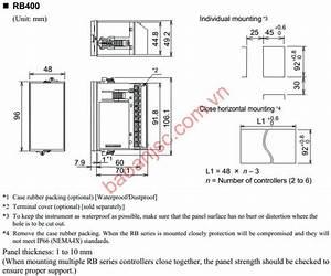Rkc Temperature Controller Rb Series