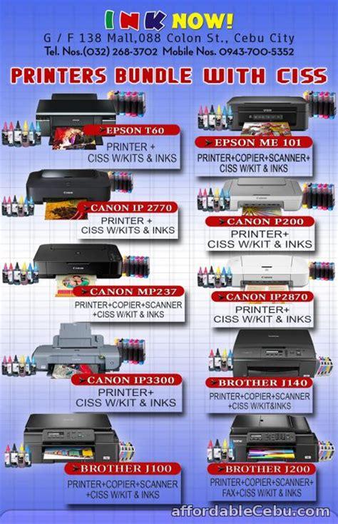 printer canon ip  ciss  sale cebu city cebu