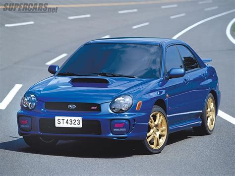 2002 Subaru Impreza WRX STi - Supercars.net