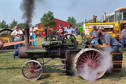 Steam Tractor Case Dyno Horses Machine Hits