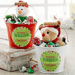 Sweet Christmas Mini Metal Bucket BABY