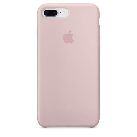 iphone 8 plus 7 plus silicone case pink sand apple