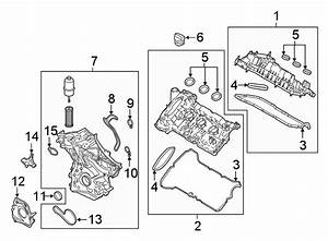 Ford Fusion Engine Timing Cover  Front  Lower   2 7 Liter