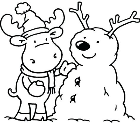 Winter Free Coloring Pages Winter Coloring Sheets Printable Simple Winter Coloring