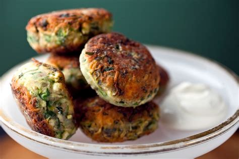 greek zucchini fritters recipe nyt cooking