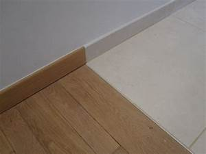 jonction parquet carrelage renovation carrelage With barre de jonction carrelage parquet