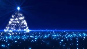 Blue, Christmas, Tree, Background, Loopable, Stock, Footage, Video, 100, Royalty