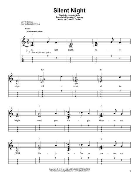 Silent night sheet music and mp3 files. Silent Night | Sheet Music Direct