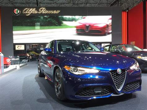 2017 Alfa Romeo Giulia Lineup Debuts In The Big Apple
