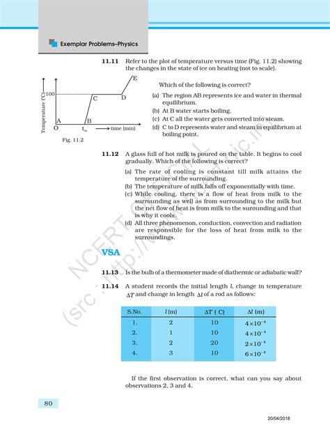 ncert exemplar class  physics solutions chapter