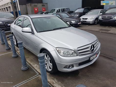 This vehicle is at the top of the mercedes line and is the third generation of the series was created in 2007; Used Mercedes-Benz Luxury Sedan 2007 MERCEDES BENZ C CLASS W204 AVANT GARDE | Rwanda CarMart